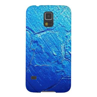 Doorstaan in Blauw Galaxy S5 Hoesje