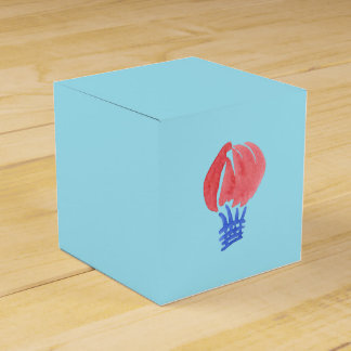 Doos van de Gunst van de Ballon van de lucht de Bedankdoosjes