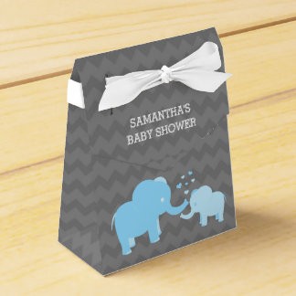 Doos van de Gunst van de Tent van het Baby shower Bedankdoosjes