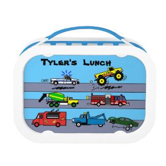 Doos van de Lunch van de Jongens van de Lunchbox