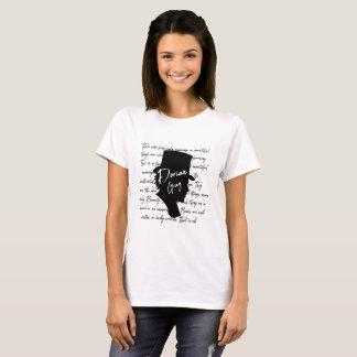Dorische Grijze Citaten Bookwarm T Shirt