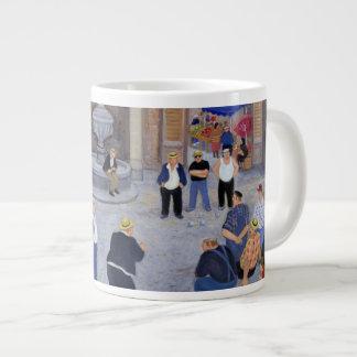 Dorp in de Provence Grote Koffiekop