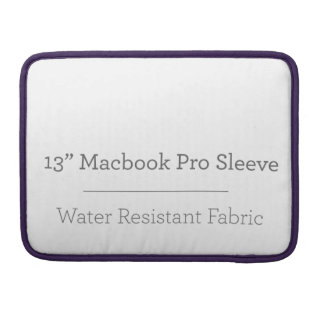 Douane 13in ProSleeve Macbook Sleeve Voor MacBooks