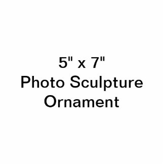 Douane 5 het Ornament van het Beeldhouwwerk van de Fotobeeldje Ornament