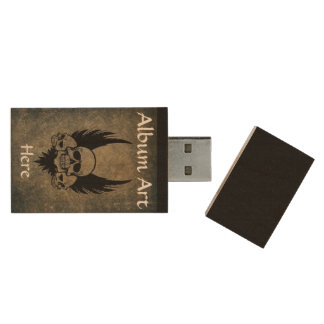 Douane Band Gemerkt USB Houten USB 2.0 Stick
