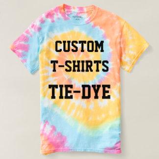 Douane Gepersonaliseerde de stropdas-KLEURSTOF van T Shirts