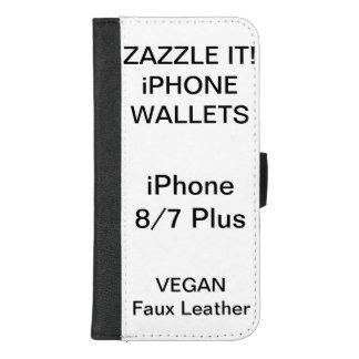 Douane Gepersonaliseerde iPhone 8/7 plus de Spatie iPhone 8/7 Plus Portemonnee Hoesje
