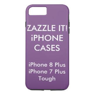 Douane Gepersonaliseerde iPhone 8 plus het Taaie iPhone 8/7 Plus Hoesje