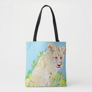 Douane helemaal over - de Afrikaanse Leeuw van het Draagtas