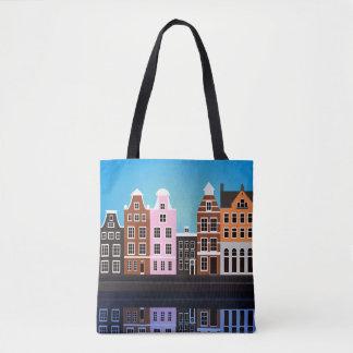 Douane helemaal over - het Canvas tas Amsterdam
