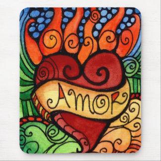Douane Mousepad van het Hart van Amor/van de Muismatten