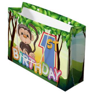 Douane van de Partij van de Verjaardag van de aap Groot Cadeauzakje