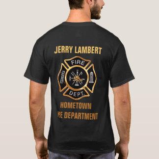 Douane van het Kenteken van het brandweerkorps de T Shirt