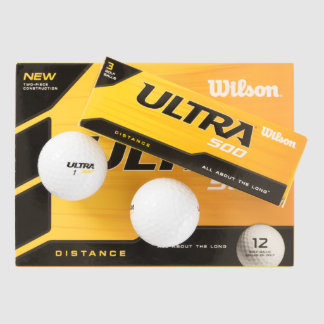 Douane Wilson de Golfbal van ultra 500 Afstand Golfballen