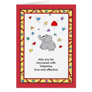 Douche van Affectie - Valentijn Wenskaart