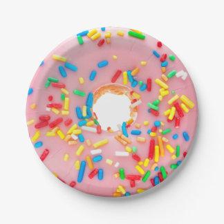 Doughnut - Doughnut Papieren Bordje