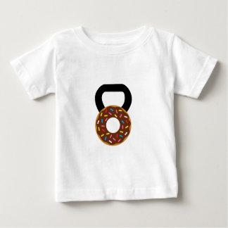 Doughnut Kettlebell Baby T Shirts