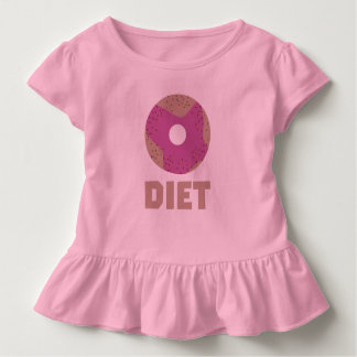 Doughnut voor Diëten Z958r Kinder Shirts