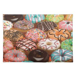 doughnuts placemat