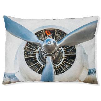 Douglas gelijkstroom-3 Vliegtuig. Propeller Hondenbedden