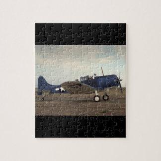 Douglas, SBD Onverschrokken, _Classic Luchtvaart Puzzel