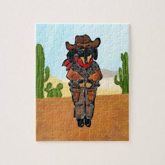 Doxie Gunslinger Puzzel