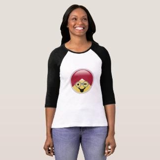 Dr. de T-shirt van Social Media Tongue Wink Emoji