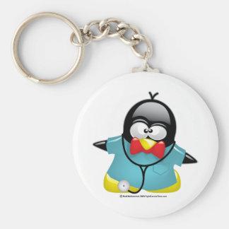 Dr. Penguin Sleutelhanger