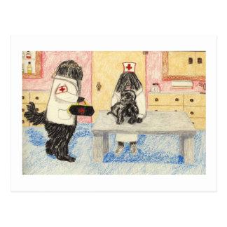 Dr. Puli en Zijn Kleine Patiënt Briefkaart