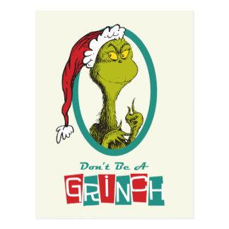 Dr. Seuss   Grinch Briefkaart