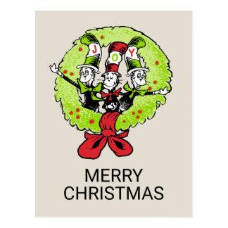 Dr. Seuss | Grinch | Vreugde van Kerstmis Whoville Briefkaart