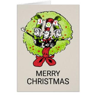 Dr. Seuss | Grinch | Vreugde van Kerstmis Whoville Briefkaarten 0