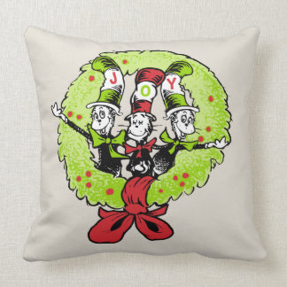 Dr. Seuss | Grinch | Vreugde van Kerstmis Whoville Kussen
