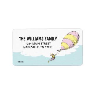 Dr. Seuss | Oh! De plaatsen zullen u gaan! Etiket