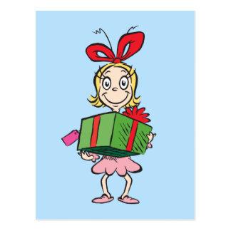 Dr. Seuss | Who Cindy-Lou - Aanwezige Holding Briefkaart