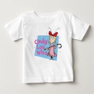 Dr. Seuss | Who Cindy-Lou - het Riet van het Snoep Baby T Shirts
