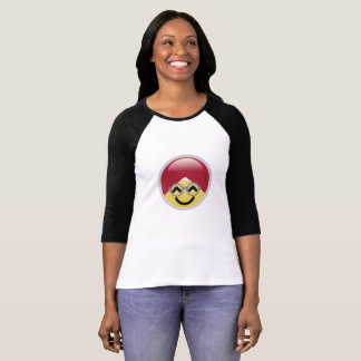 Dr. Social Media Cheerful Turban Emoji T-shirt