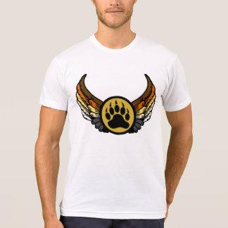 Draag de Vleugels van de Engel van de Vlag van de T-shirt