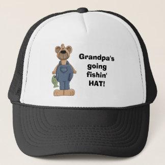 draag, Grandpa'sgoingfishin'HAT! Trucker Pet
