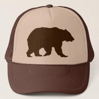 Draag het Bruine Silhouet van de Grizzly van het Trucker Pet
