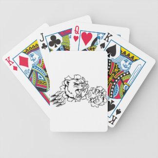 Draag Mascotte Esports Poker Kaarten