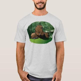 Draag op een Logboek T Shirt