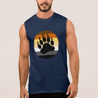 Draag Poot in de Cirkel van de Trots van het Beer T Shirt