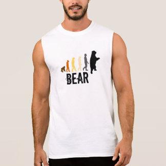 Draag/Stijgen van Man dragen Rug van de Poot van T Shirt