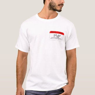 Draag Uw Etiket: PTSD T Shirt