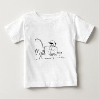 Draag vissend baby t shirts
