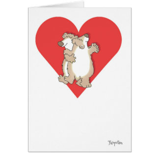 DRAAGT DANSENDE Valentijnskaarten door Boynton Briefkaarten 0