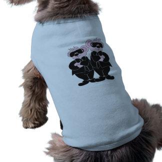 DRAAGT IN FASCIST VOOR HOND - Trui voor hond Mouwloos Hondenshirt