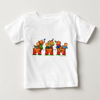 Draagt op een Overhemd van het Baby van de Trein Baby T Shirts