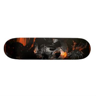 Draak met het skateboard van de Schedel
